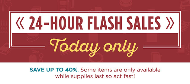 Monday 28th December 24 Hour Flash Sales