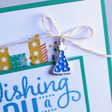 Party Animal Washi Tape meets Big on Birthdays stamp set from Stampin' Up! UK
