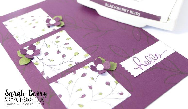 In Colour Week – Blackberry Bliss Day