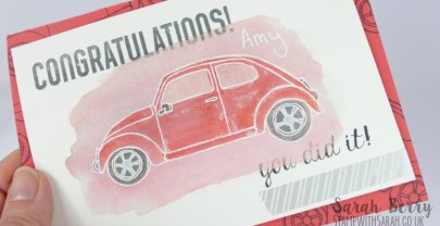 Congratulations you did it! featuring Beautiful Ride stamp set