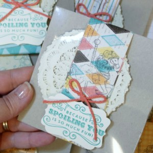 VIDEO: Decorating Team Gifts with Stampin' Up!'s Cupcakes & Carousels Suite