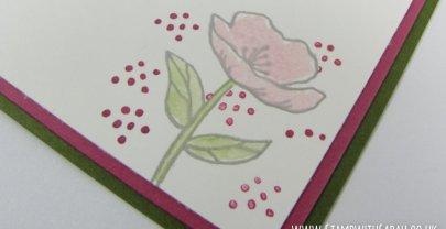 Sneak Peek! Masking technique using new set 'Birthday Blooms'