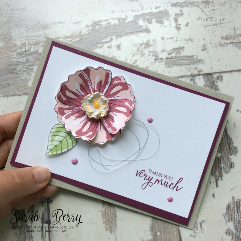 Gorgeous flowers for Strawberry Sketch Challenge #SS006
