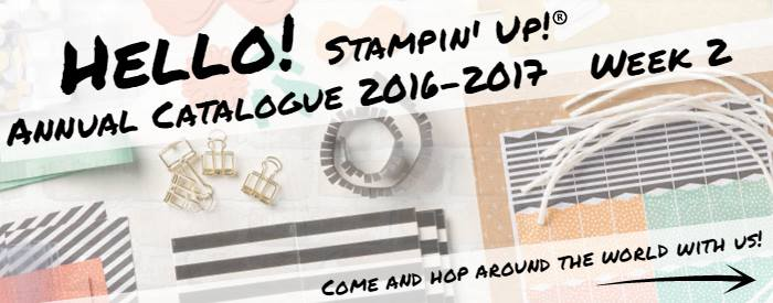 Hello! Stampin' Up! Annual Catalogue Week 2
