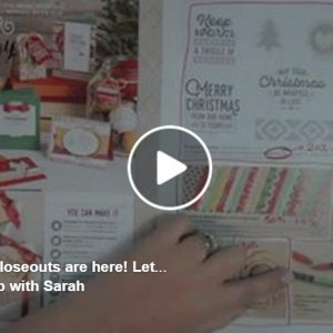 VIDEO: Saying goodbye to the Stampin' Up!® Autumn-Winter Catalogue & Day 2 of 24 Days of Treats!