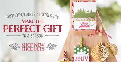 The Stampin' Up! Autumn/Winter Catalogue is out now!