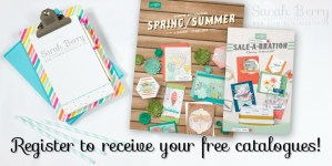 Have you registered for your new Stampin' Up! catalogues?