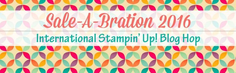 Sale-A-Bration 2016 International Blog Hop