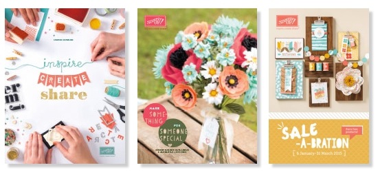 Stampin Up UK Stamp with Sarah Berry Order Catalogues