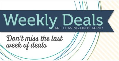 On Sale: Last ever Weekly Deals for 13th April – 19th April