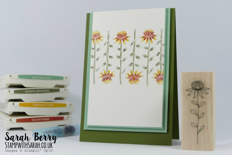 William Morris inspired card for Farewell Blog Hop Part 2
