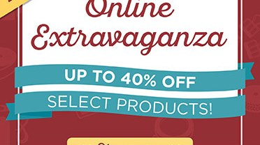 24 hour Flash Sale AND Online Extravaganza starts tonight!
