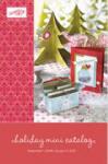 Stampin' Up Holiday Mini Catalog