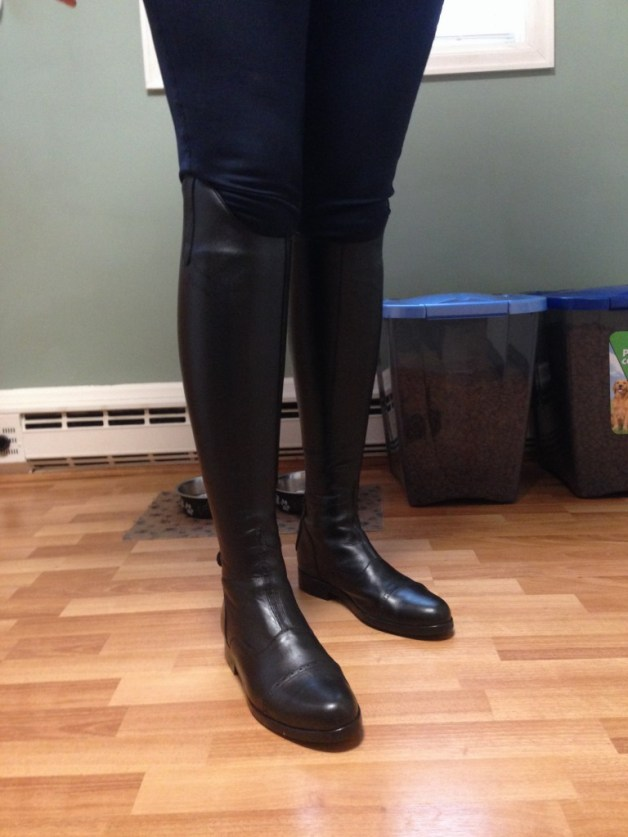 Rocking the dress boots
