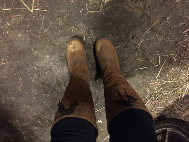 New boots are officially barn christened