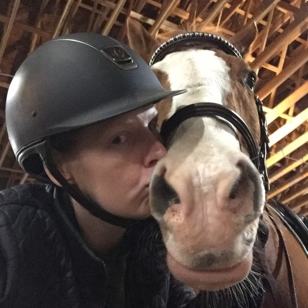 Kisses for my pony