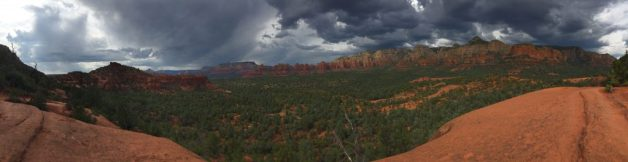 Storms rolling in