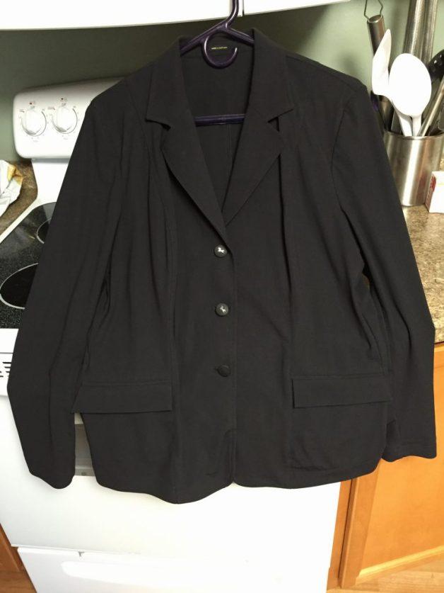 RJ Classics Monterey Xtreme Soft Shell Show Coat, Black, 16R, Used less than a season, $350 OBO