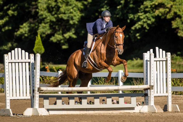My favorite jumping photo from the weekend, love his happy face