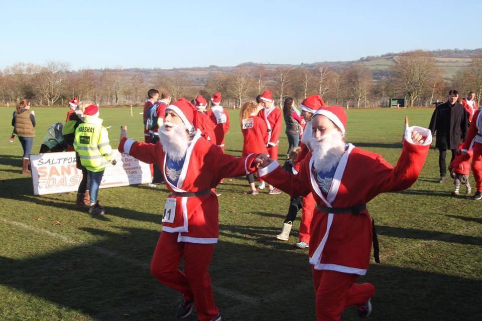 Saltford Santa Dash