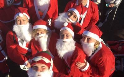 2016 Saltford Santa Dash