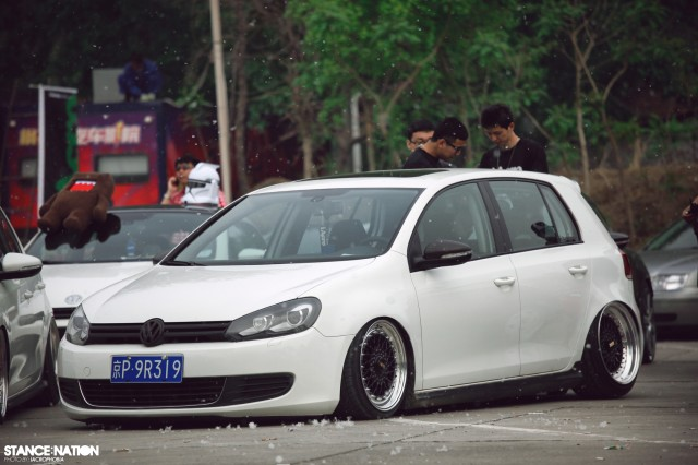 Aggressive Fitment China Stanced Car Event (7)