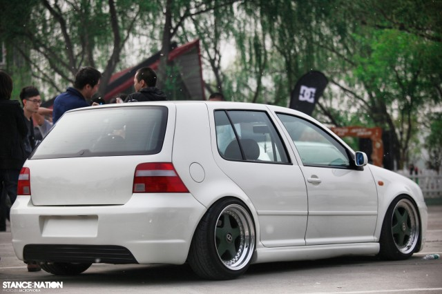 Aggressive Fitment China Stanced Car Event (6)