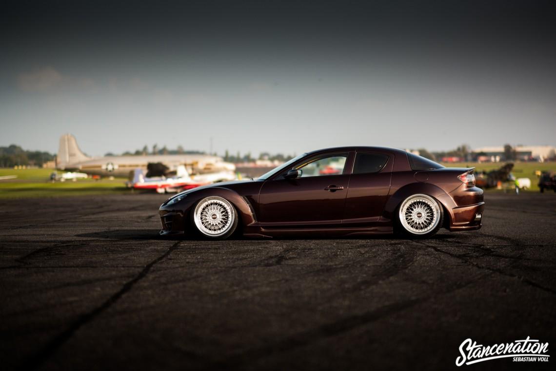 Widebody Slammed Mazda RX8-6
