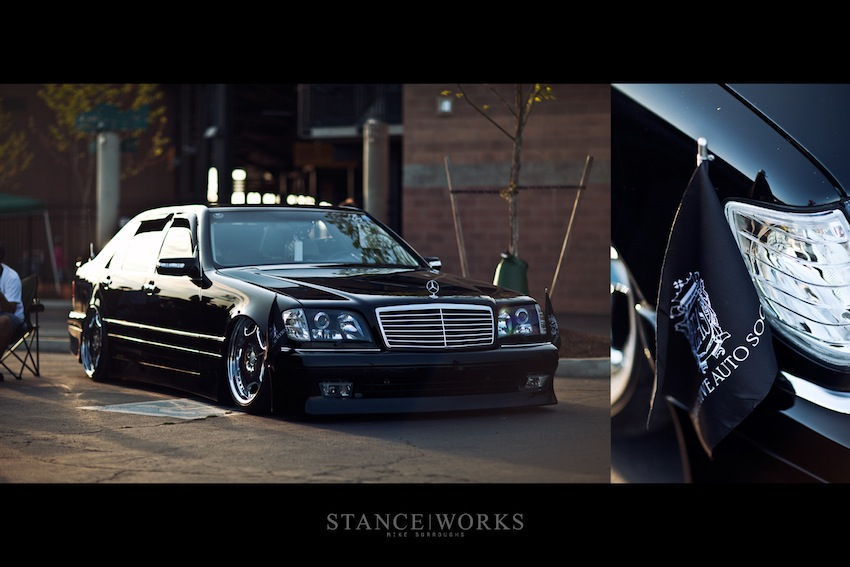 1st Authentic Junction Produce Mercedes Benz W140 In The