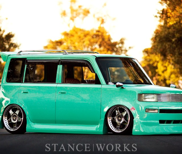 An Artists Canvas Todd Nakanishis Bagged Scion Xb