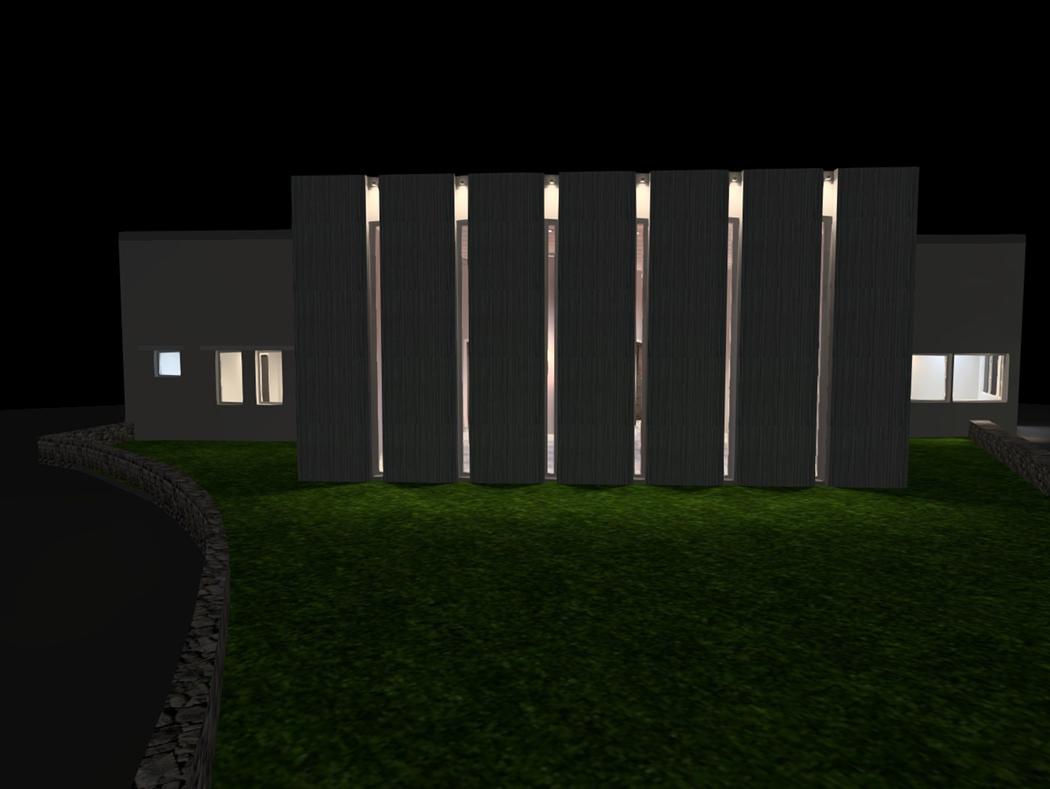 Eclairage façade