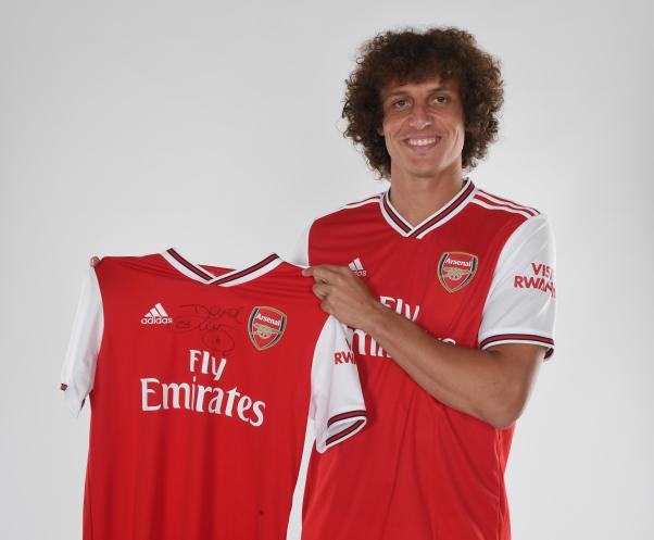 Image result for David Luiz: 'It will be easier not playing against Aubameyang or Lacazette,