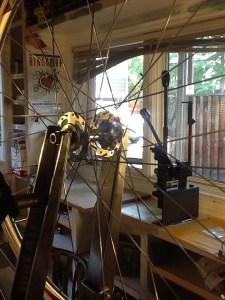 Wheel Building Class with Spoke Threader, Morizumi Spoke Machine