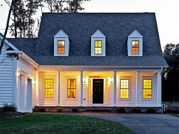 cape cod style home standard insulating