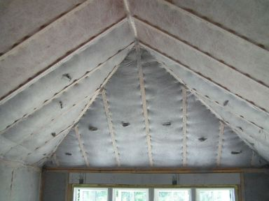 new construction standard insulating