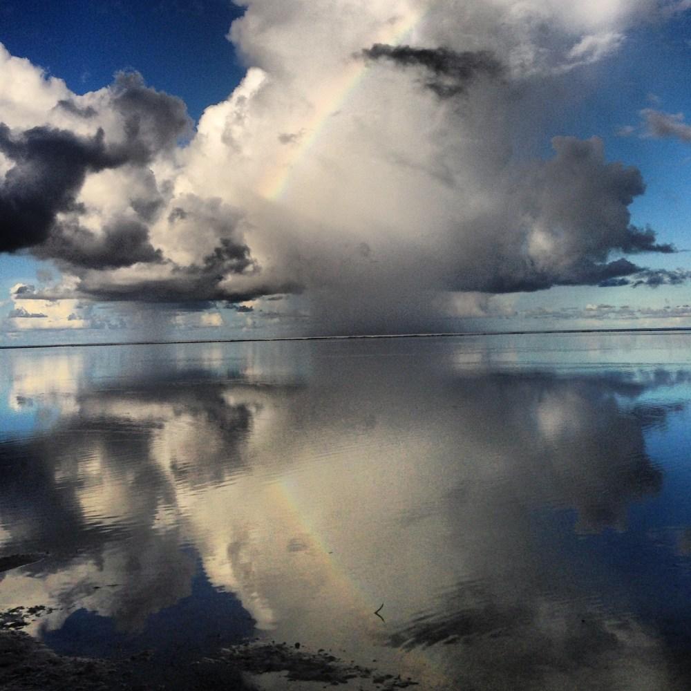 Blue Hole Reflections