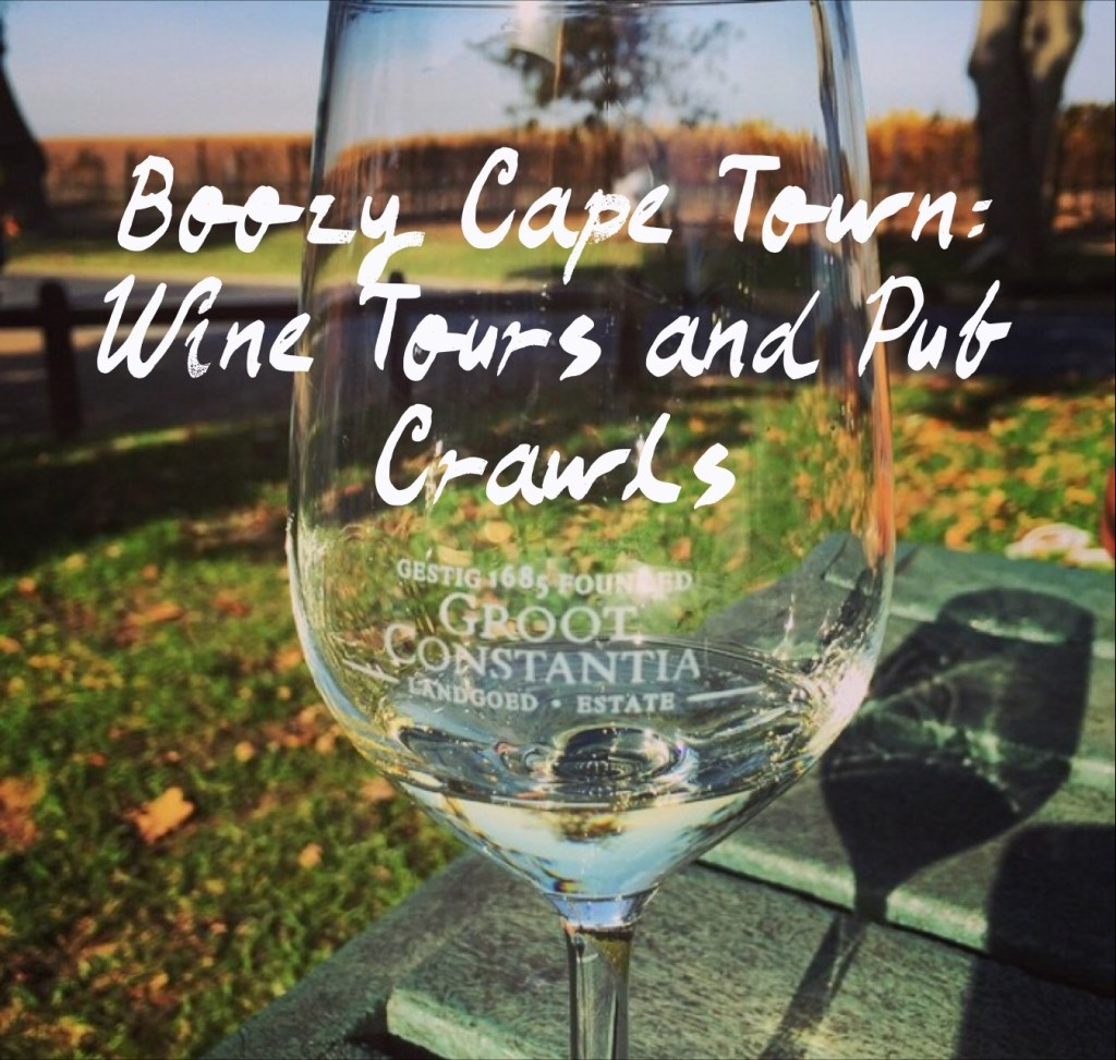 Boozy Cape Town: Self-Guided Wine Tours and Pub Crawl