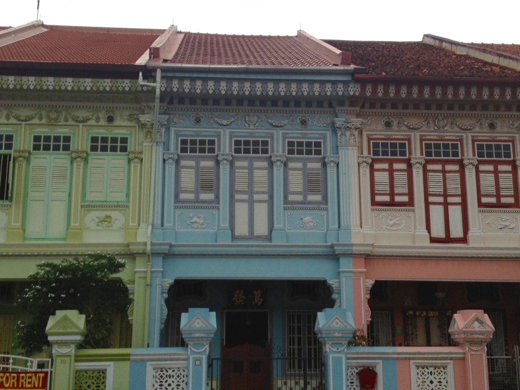 Top 9 Off the Beaten Path Singapore - Peranakan Row Houses