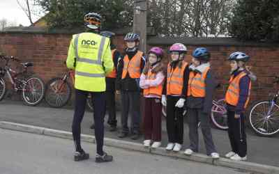Bikeability Cycle Training at the NCA