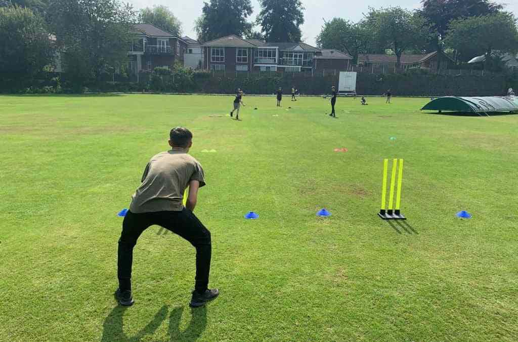 Sun, stumps and sixes at our Summer Camp
