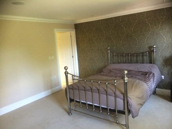 Bedroom repaint, Finchampstead
