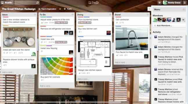 Trello collaboration app - productivity hacks