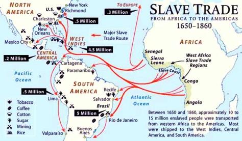 """The Trans Atlantic Slave T"