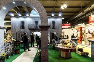 Stand fieristici Milano Fiera TUTTOFOOD Stand Caseificio Artigiana