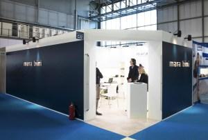 Allestimenti fieristici Milano Fiera theMICAM Stand mara bini