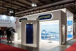 Allestimenti fieristici Milano MADE EXPO Stand Portapiù