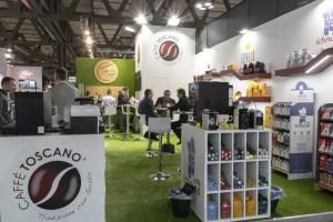 Allestimento Stand Fiera Milano HOST Stand Caffè Toscano