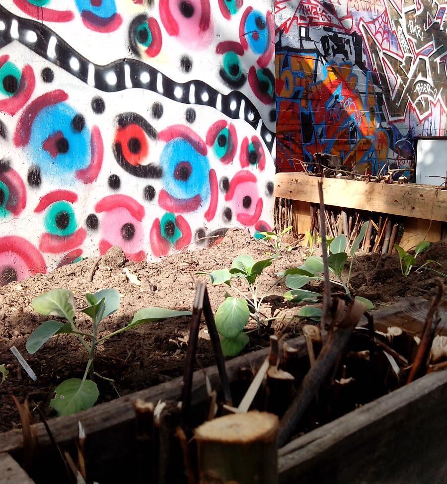 street art in de Urban Garden Kebap