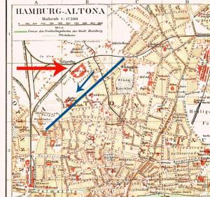 Hamburg-Altona-Kaserne - 1890-Standort-Hamburg