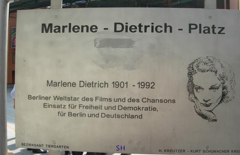 Marlene Dietrich Platz 3 Berlin